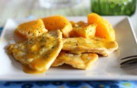 Escalopes de Pavo a la Naranja