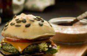 Cocinar Hamburguesas de Pollo y Espinacas